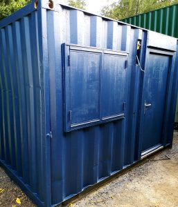 10ft x 8ft Used anti-vandal Portable Site Office £1,800+Vat