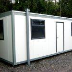 New 24ft x 10ft Plastisol steel clad office.