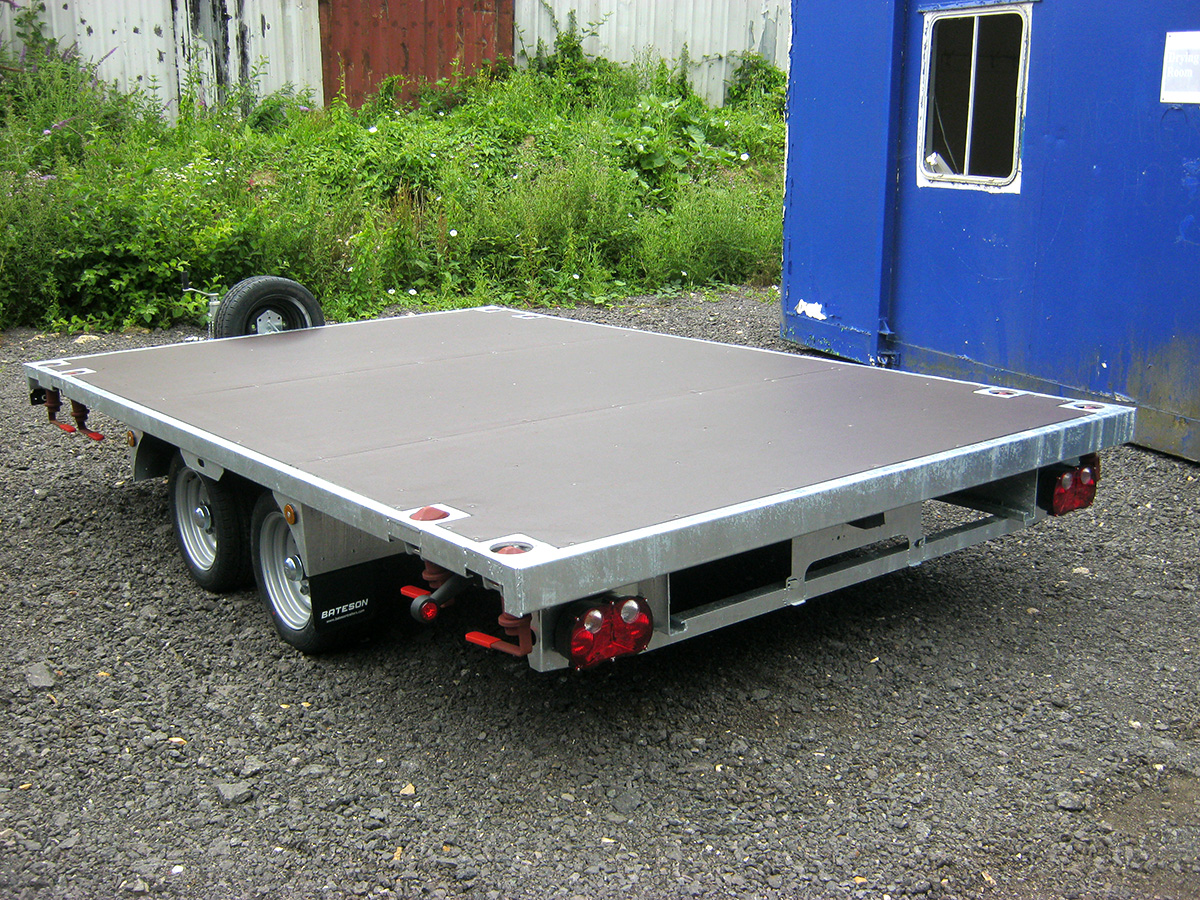 Shipping Container Trailer >> New Container Trailer With Twist Locks 4 350 Vat