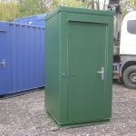 Single mains toilet, site toilet, portable toilet, £2500 + VAT