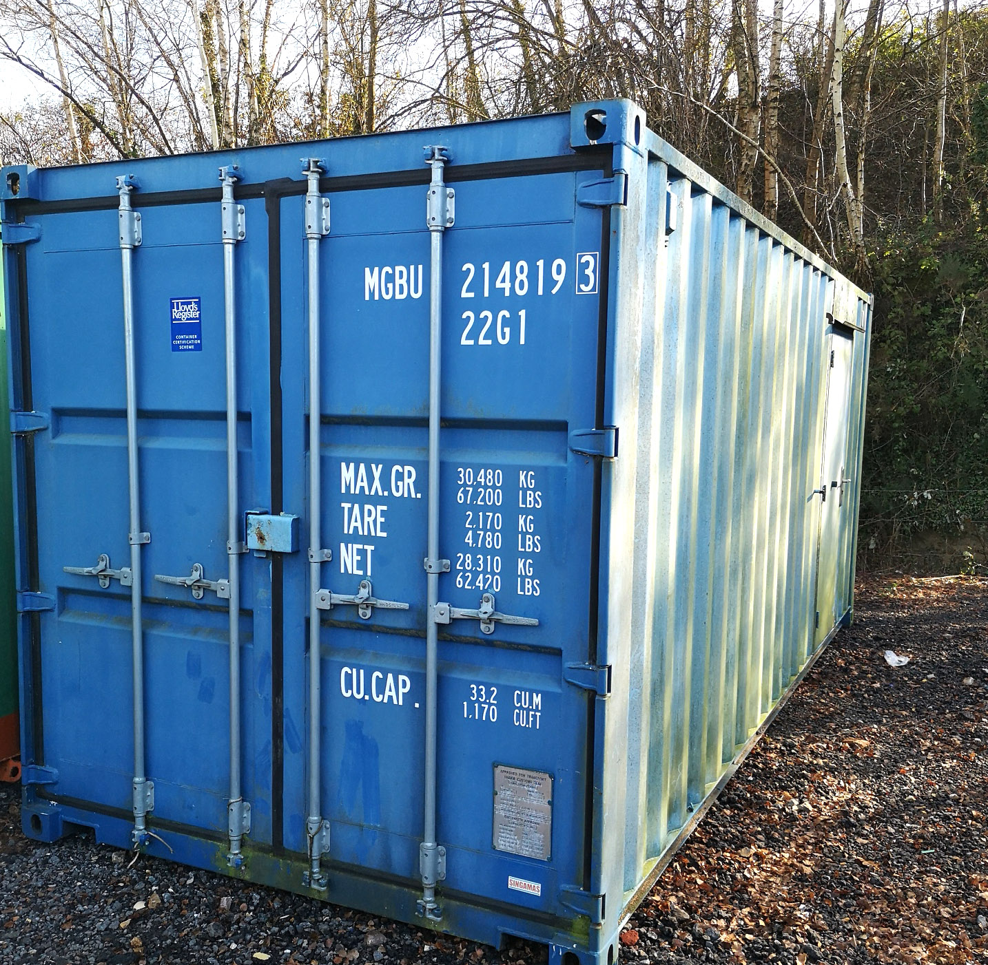 20x8 used 50/50 office with store in good condition