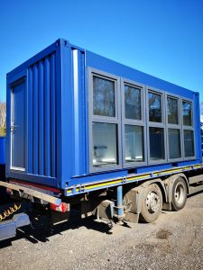 A New, well equipped 20ft x 8ft Portable Antivandal building or site office
