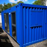 20x8 antivandal site office with kitchen