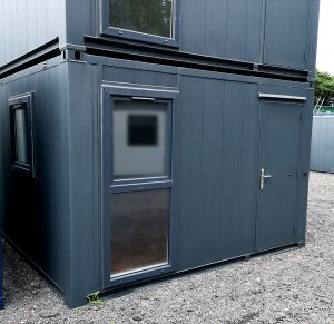 New 12ft x 10ft Flat-sided Steel Portable Building Site office £5,950+Vat