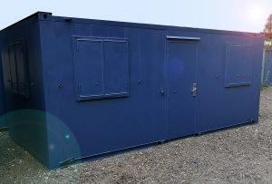 20ftx9ft used anti-vandal office